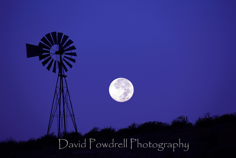 Full moon at Hollister Ranch