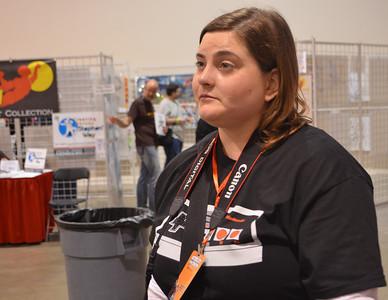 Friday at Motor City Comic Con 2014