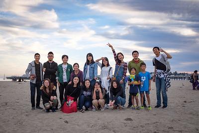 2017-11-25 IUSM Santa Cruz Trip to Mystery Spot & Boardwalk