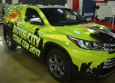 Motor City Comic Con 2017 Day 1 Friday