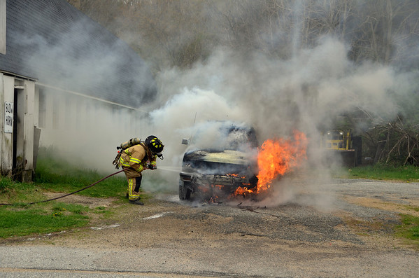 Bozrah SUV Fire 04-29-13