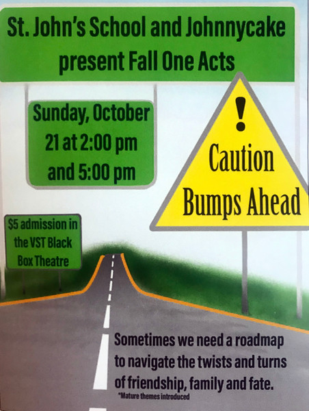 2018 Fall One Acts - Caution Bumps Ahead