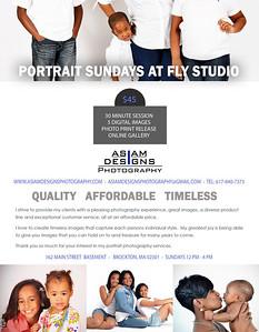 Portrait Sundays Info