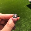 .53ctw Rose Cut Halo Ring, by Single Stone 10