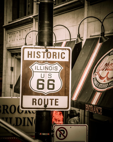 Chicago is the starting point of Route 66