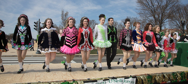 St. Patrick's Parade in DC (2018)