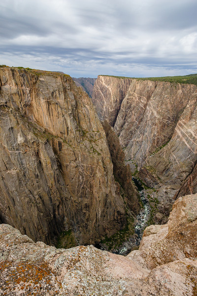 North Rim view, Black Canyon of the Gunnison National Park