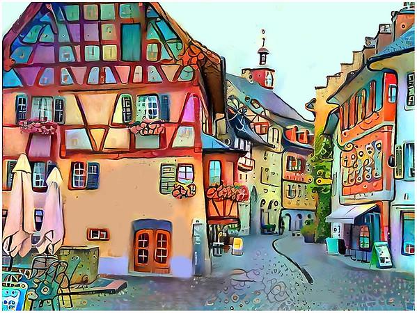 Switzerland  - Stein am Rhein Fantasy