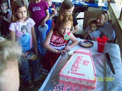 Daelynn 5th Birthday