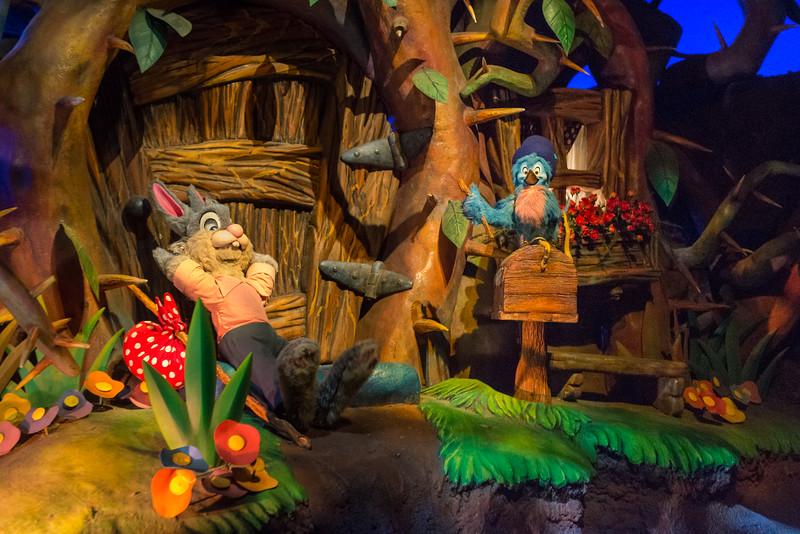 Splash Mountain Critters - Magic Kingdom Walt Disney World