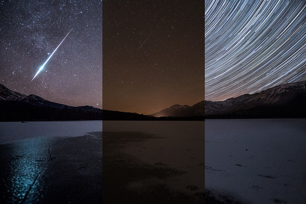 Making the Image: Geminids in Jasper - NASA Astronomy Picture of the Day