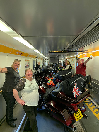 12th July 2019 - The Ardennes - Tunnel and Down to Smuid