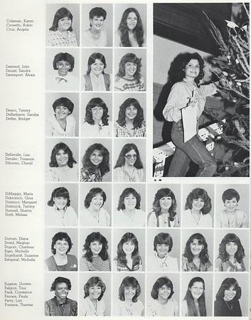1983 Junior Class Photos