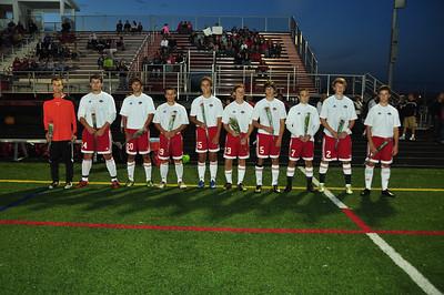 VB Soccer Senior Night 9-14-2011