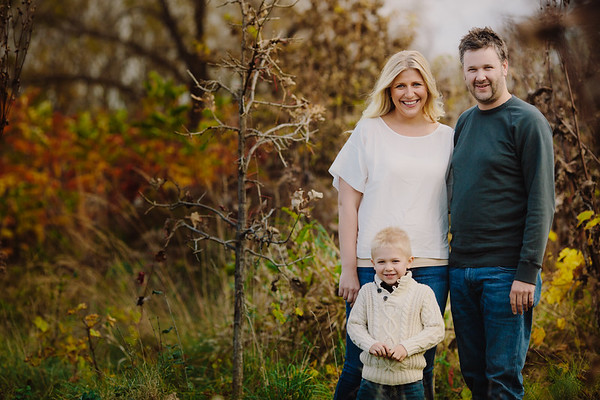 Engagement/Family Session -Fall, Cloudy