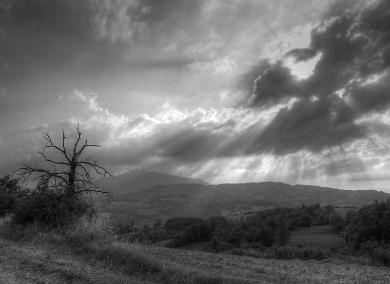 Almost Sunset - Near Ginepreto, Castelnovo ne' Monti, Reggio Emilia, Italy - July 9, 2011