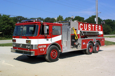 CUSTER TOWNSHIP FIRE DEPARTMENT