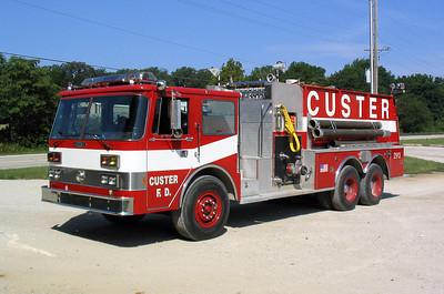 CUSTER TOWNSHIP FIRE DEPARTMENT