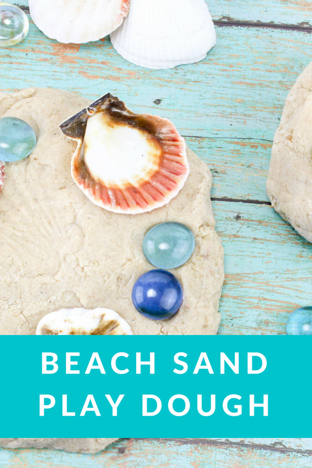 This is me linking up, as one of my favorite things to do, with Finish The Sentence Friday. And here's a fun recipe for Beach Sand Play Dough. Such fun!