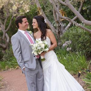 Lauren & Carlo @ Rancho Valencia