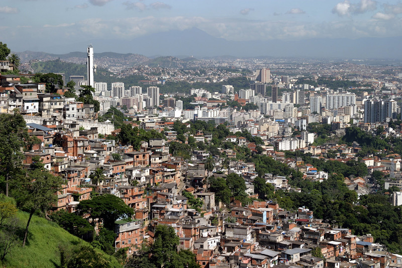Favelas..Corcovado Panorama and getting there. 2004