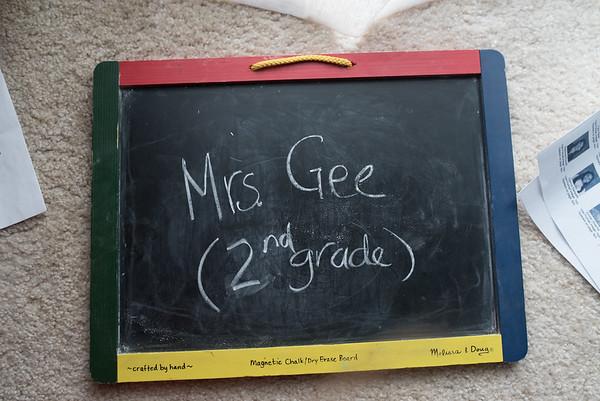 Mrs. Gee - (2nd Grade)