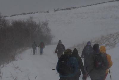 Ruthven Glen Tromie walk Jan 2018