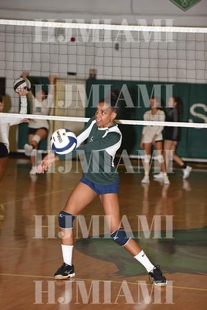 Terra Girls Volleyball 9/26/17