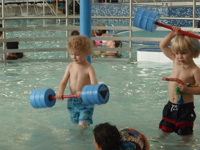Theo Swim Lesson