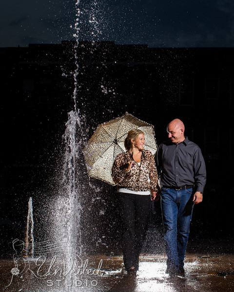Heidi & JB, Engagements in Andiver and downtown Lexington 9.27.12