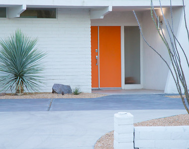 Palm Springs doors
