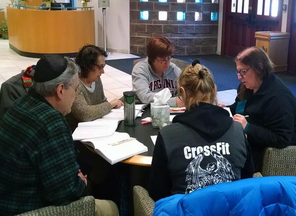 Prayerbook Hebrew Study Group April 2016
