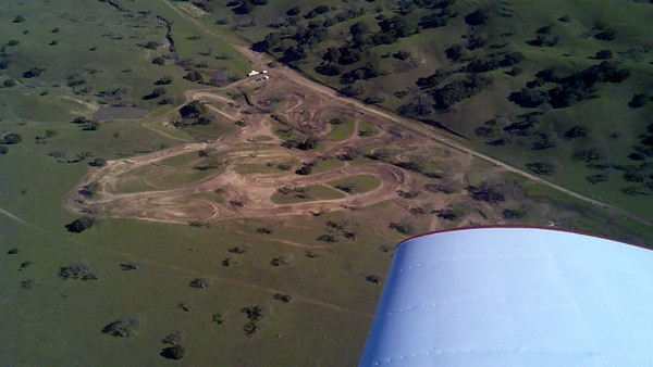 Track pics from plane
