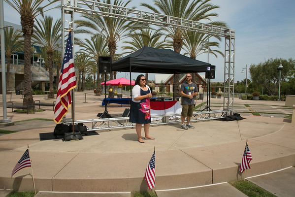 Mariners Church BBQ for the families of the  3rd Battalion / 5th Marines