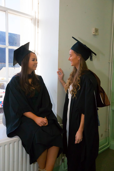 01/11/2018. Waterford Institute of Technology (WIT) Conferring Ceremonies 2018. Pictured are Eimear Cox, Ferrybank, Waterford and  Leanne Brackenbury Tramore. Picture: Patrick Browne