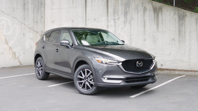 2017 Mazda CX-5 Grand Touring AWD Parked Reel
