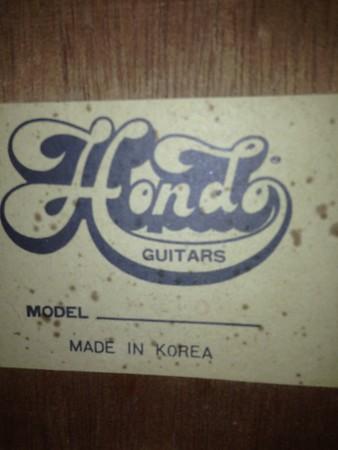 Hondo H-310 Classical Guitar Project