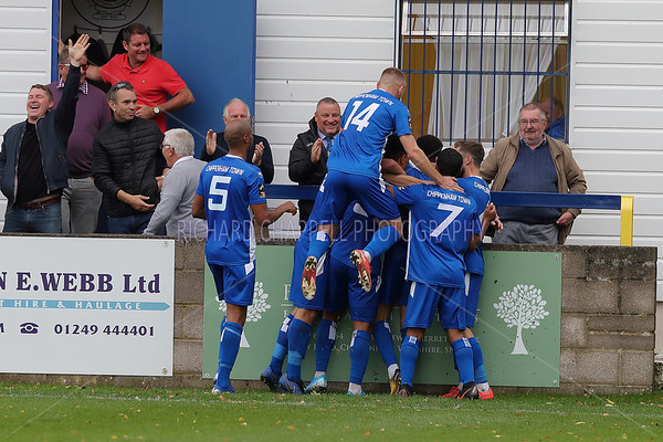 CHIPPENHAM TOWN V SLOUGH TOWN F.A, CUP MATCH PICTURES 5th oCTOBER 2019