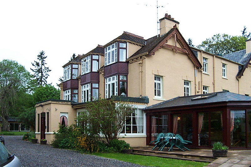 Polmaily House Hotel. Our home at Loch Ness.