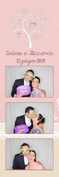 Fotocabina matrimonio Selene e Riccardo 23.06.2019 - photo booth con cabina fotografica