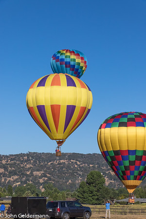 Bear Valley Springs Hot Air Balloon Festival, July 2017