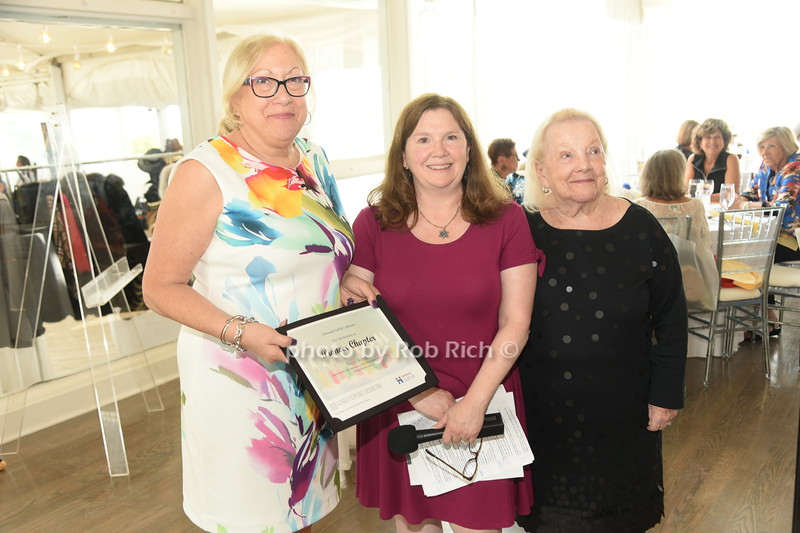 Linda Pearlman, Stacy Berman, Harriet Gilbert  photo by Rob Rich/SocietyAllure.com ©2019 robrich101@gmail.com 516-676-3939