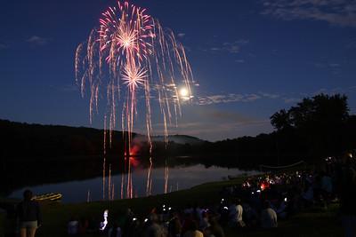 2009 Fireworks<br>Timber Lake West Camp
