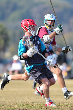 LaxDawgs Elite Brown vs Force Select, 1-4-14
