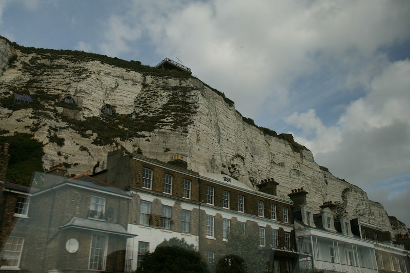 Wartime Lookouts Atop The White Cliffs Of Dover