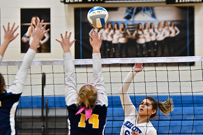 MS Beal City vs Ithaca District Volleyball