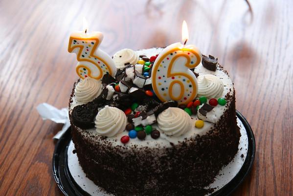Brad's 36th Birthday