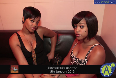 Afro Lounge - 5th January 2013
