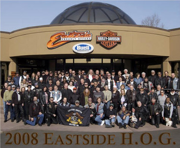 ESHOG Group photos over the years