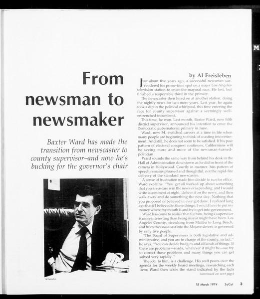 SoCal, Vol. 66, No. 92, March 18, 1974